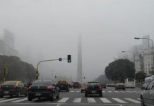 niebla, contaminacion