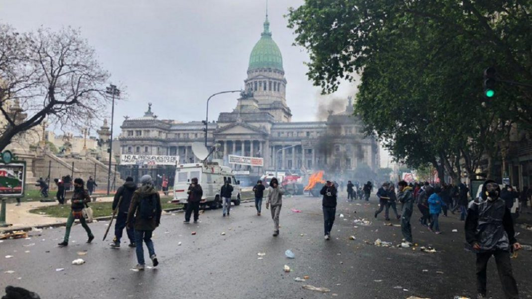 congreso, incidentes