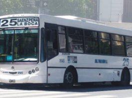 linea 25, colectivo
