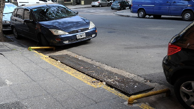 cordon, estacionamiento, garage