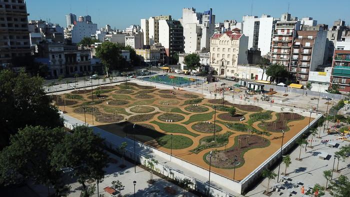 balvanera, plaza