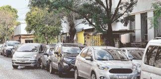 estacionar, autos