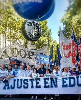 docentes, marcha