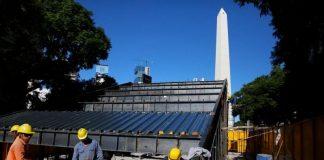 gradas, obelisco